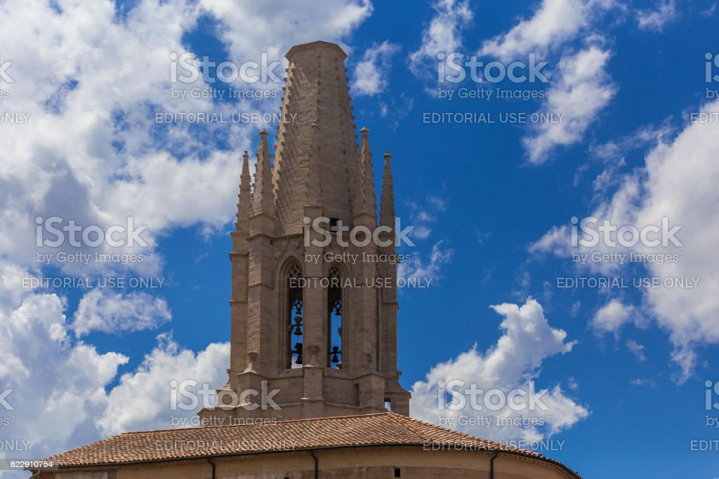 Bell tower sky stock photo