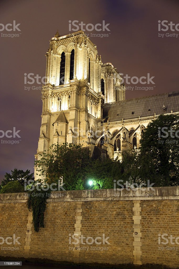 Bell Towers of Paris royalty-free stock photo