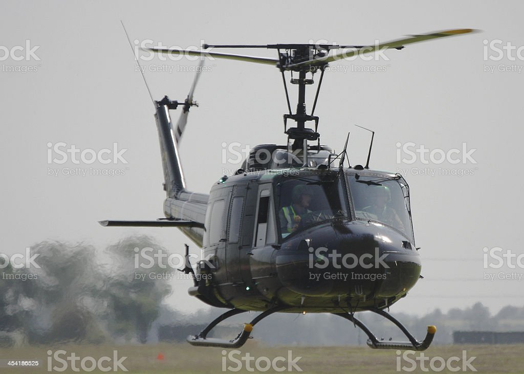 Bell UH-1H - Vietnam veteran Huey stock photo