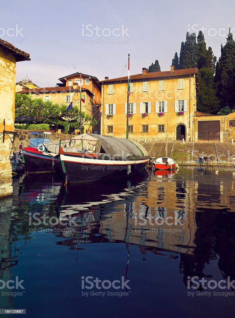 Bellagio - Como Lake in italy stock photo
