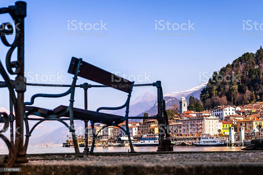 Bellagio view, Como Lake royalty-free stock photo