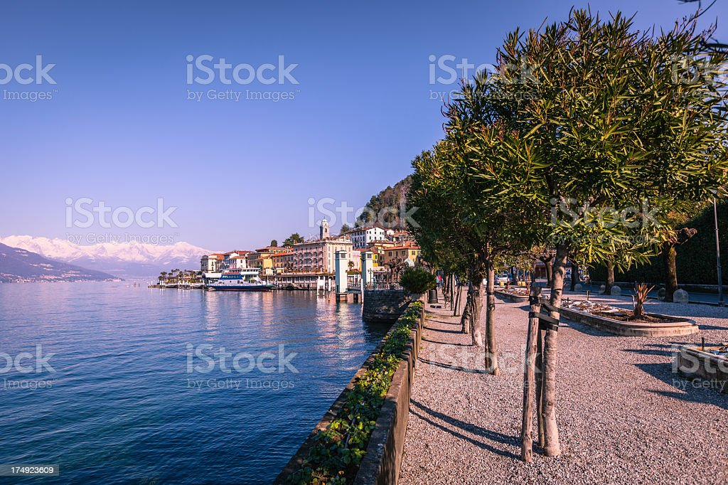 Bellagio view, Como Lake royalty-free stock photo