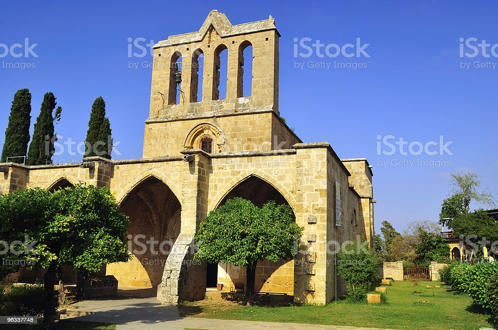 Bellapais Abbey, Kyrenia stock photo