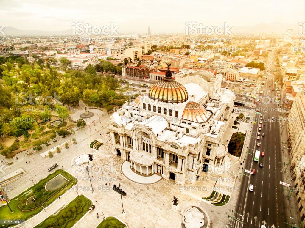 Bellas Artes Palace stock photo
