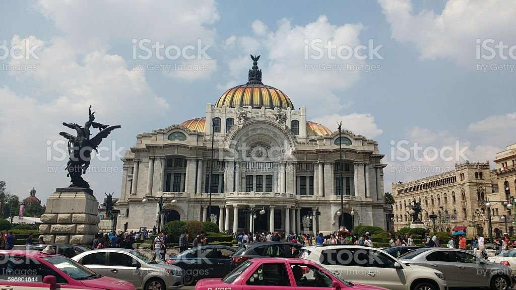 Bellas Artes stock photo