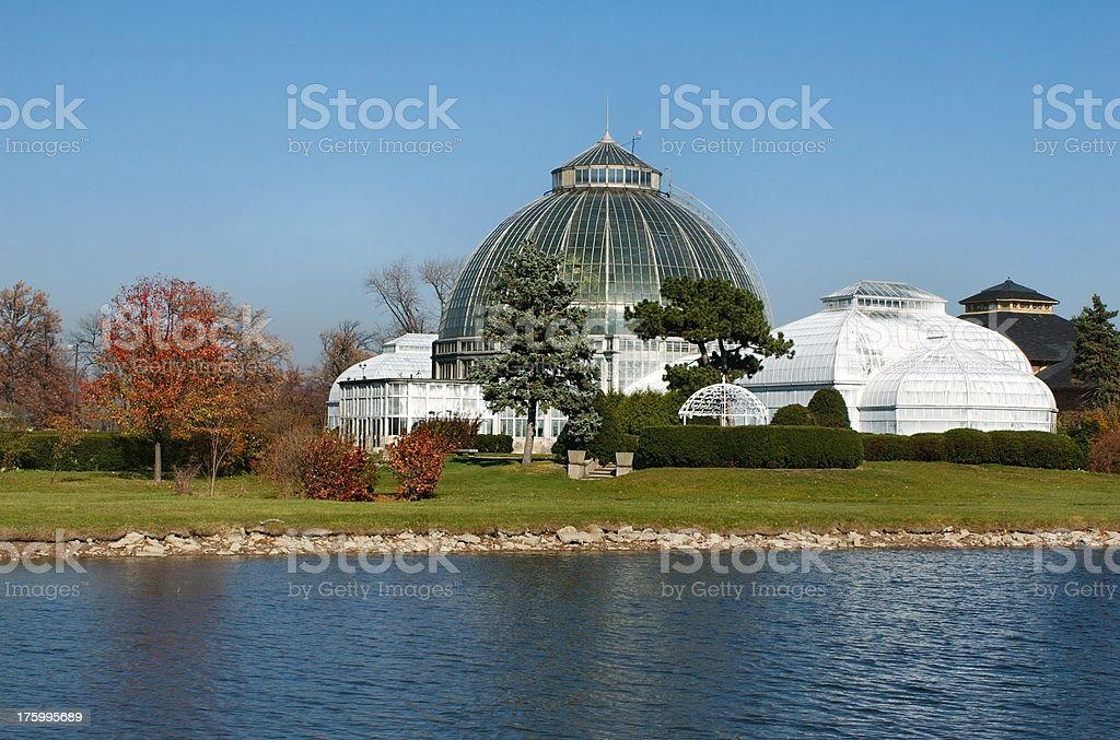 Belle Isle Conservatory royalty-free stock photo