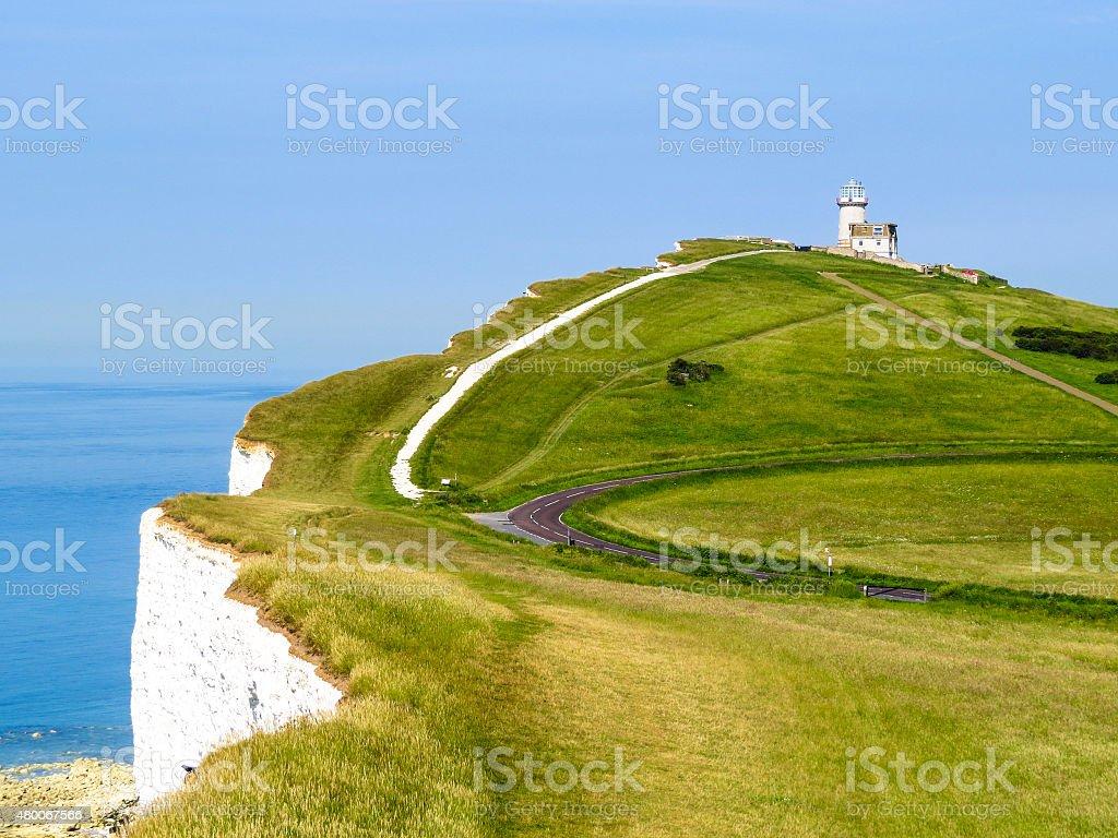 Belle Toute Lighthouse stock photo