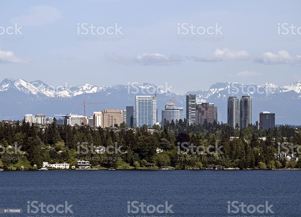 Bellevue royalty-free stock photo