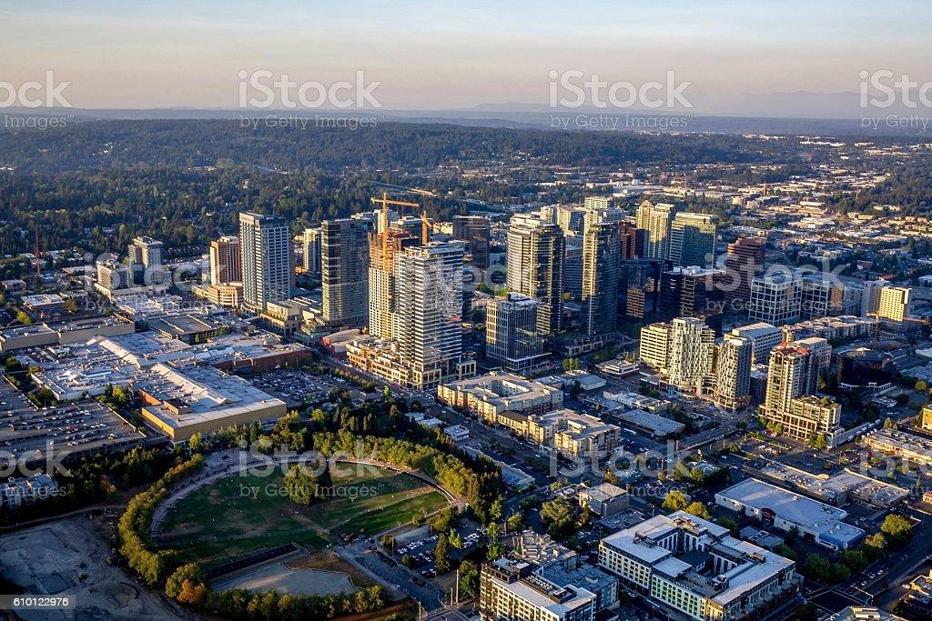 Bellevue Skyline stock photo