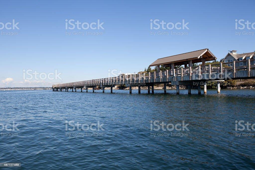 Bellingham Pier stock photo