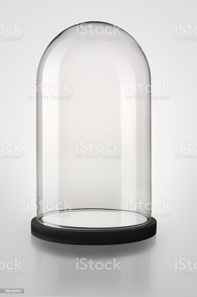 Bell-jar stock photo
