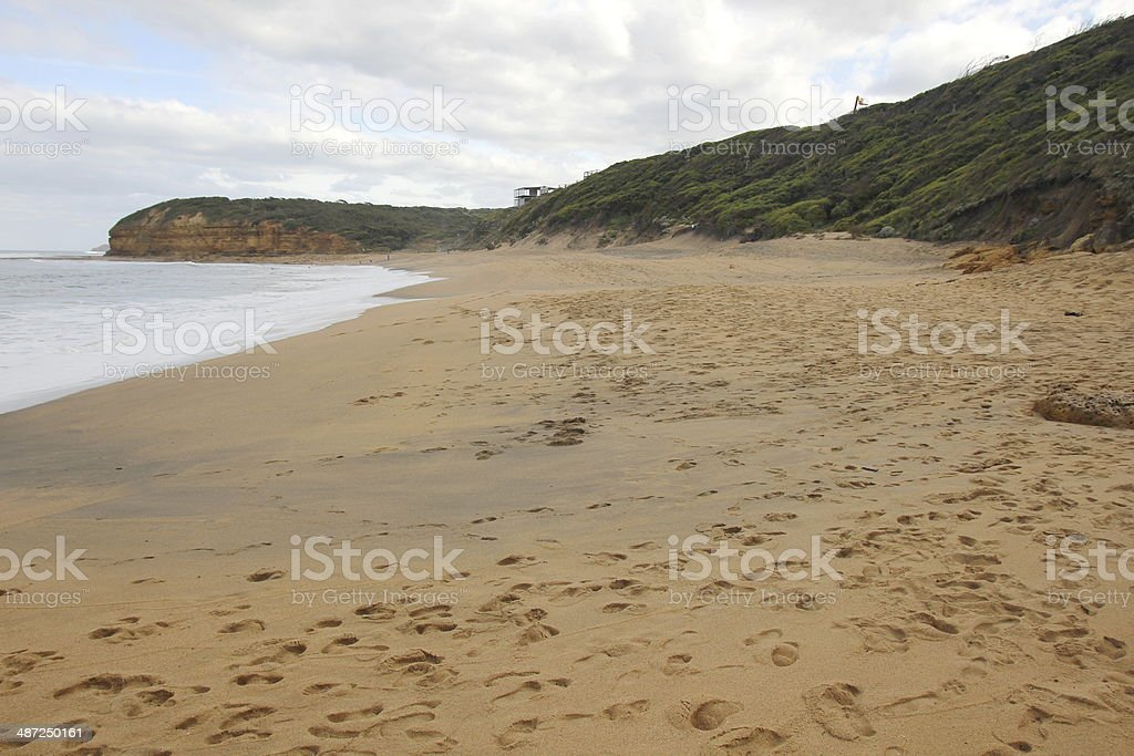 Bells Beach along the Great Ocean Road royalty-free stock photo