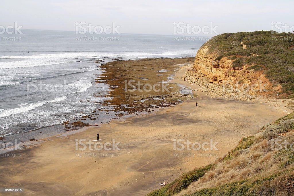 Bells Beach, Victoria royalty-free stock photo
