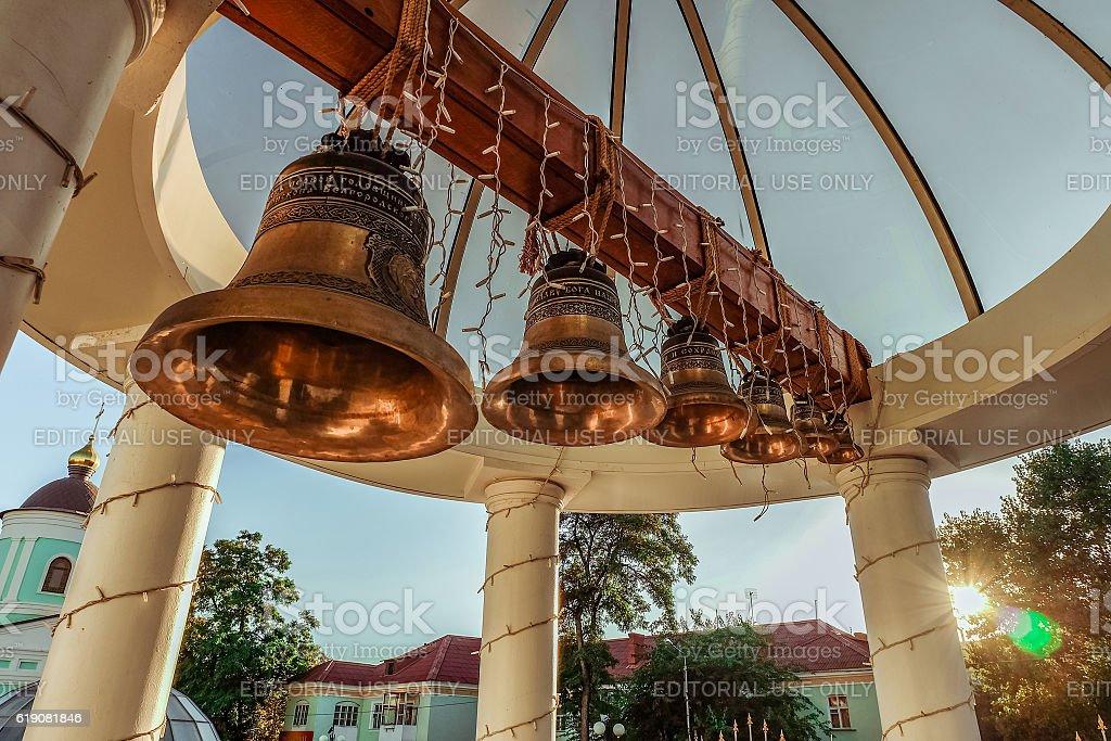 Bells. Belgorod, Russia. stock photo