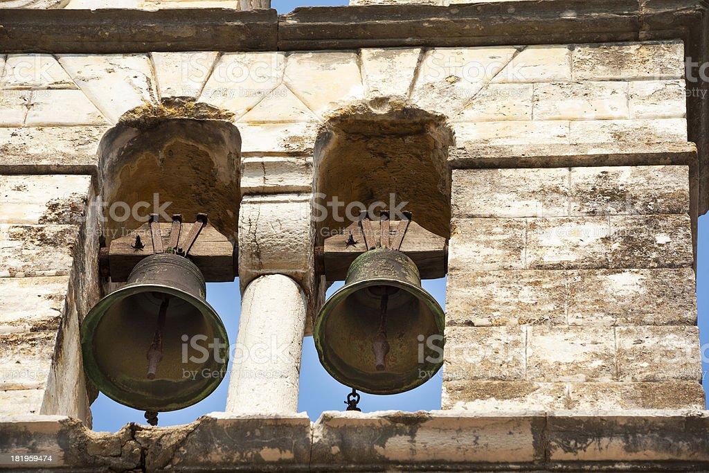Bells - Corfu Town royalty-free stock photo