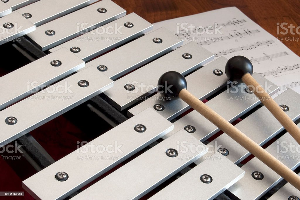 Bells, Mallets and Music stock photo