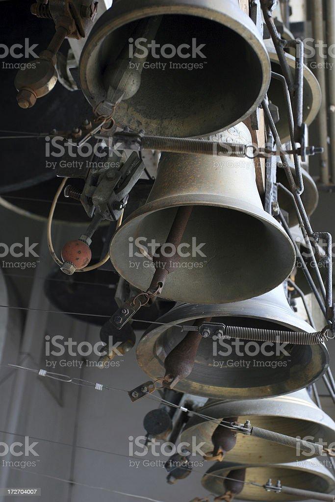 Bells of carillon. stock photo
