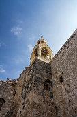 Belltower of Church of Nativity in Bethlehem