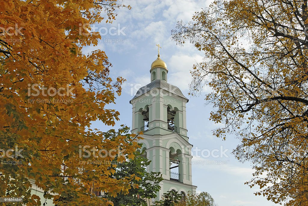 Belltower royalty-free stock photo