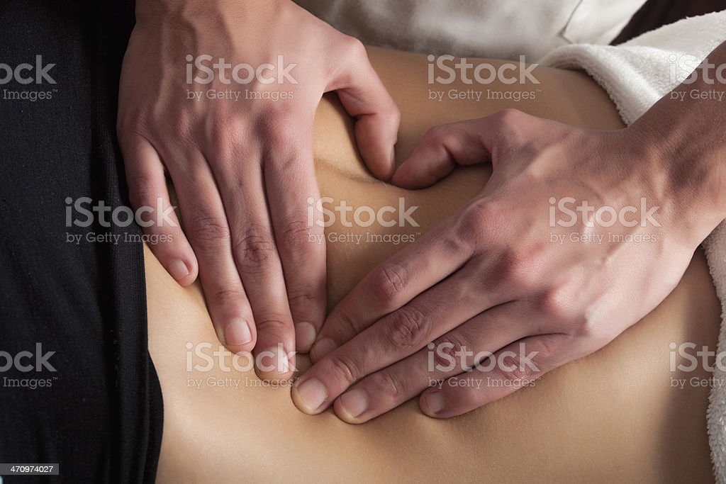 belly care stock photo