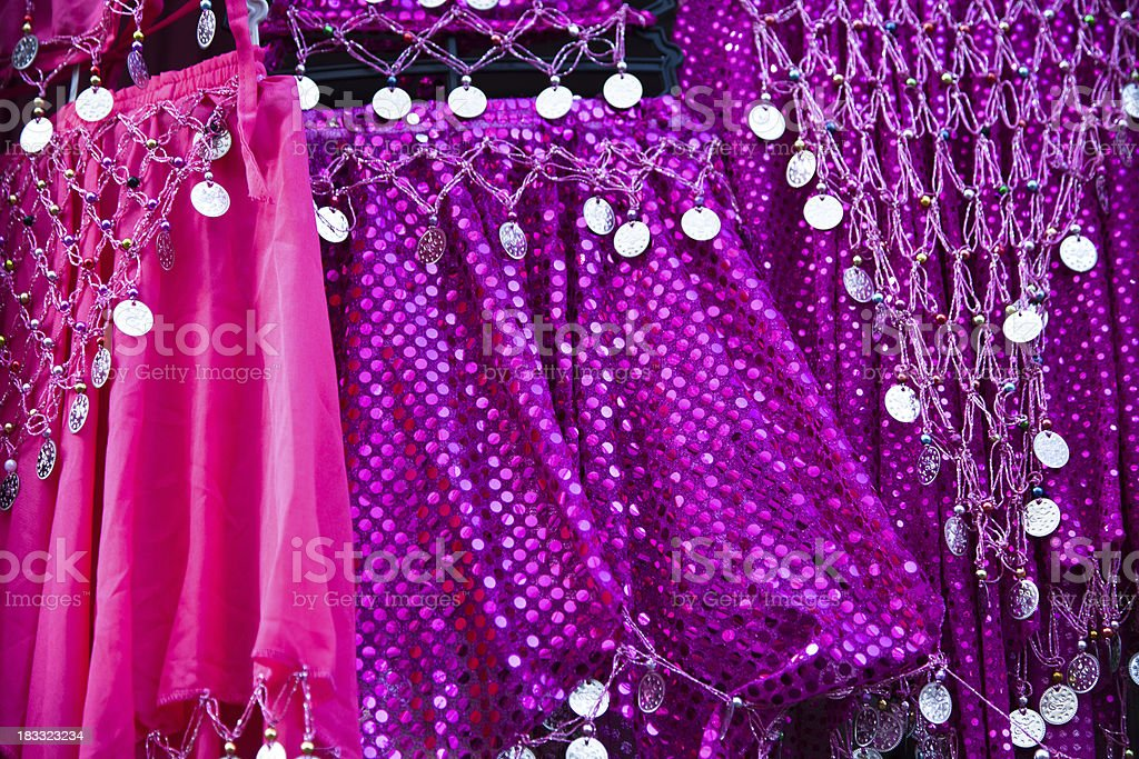 Belly dance dresses royalty-free stock photo