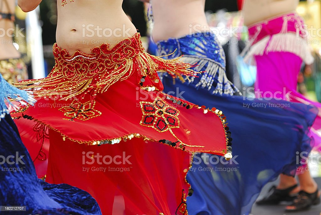 Belly Dance Performance stock photo