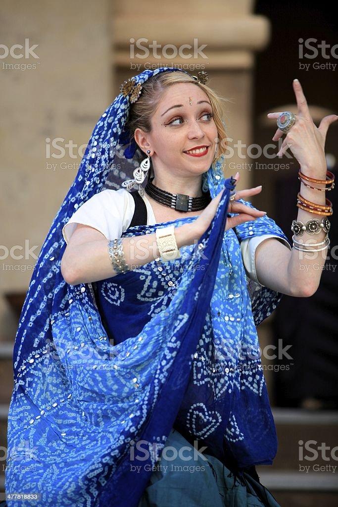 Danzatrice del ventre bellezza foto stock royalty-free