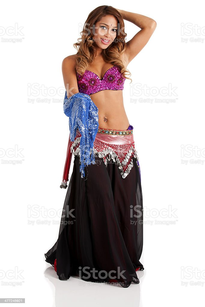 Belly Dancer royalty-free stock photo