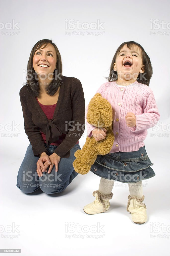 Belly Laugh royalty-free stock photo