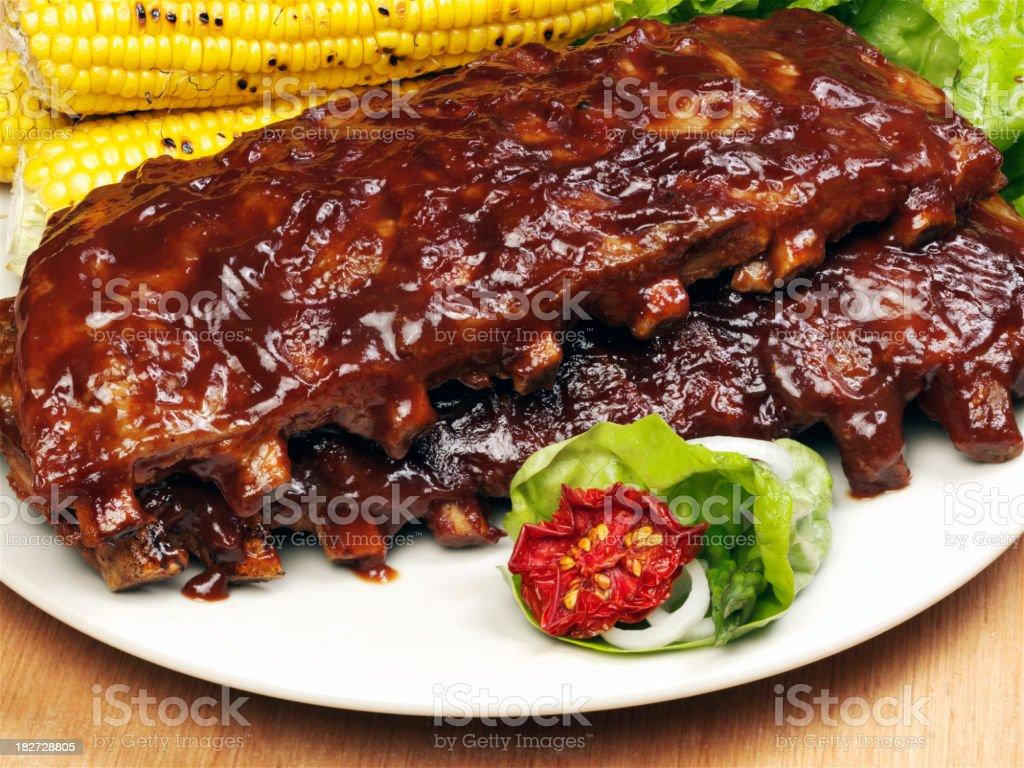 Belly Rib stock photo