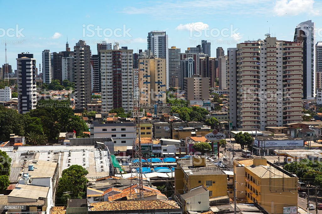 Belém City, Pará State, Brazil stock photo