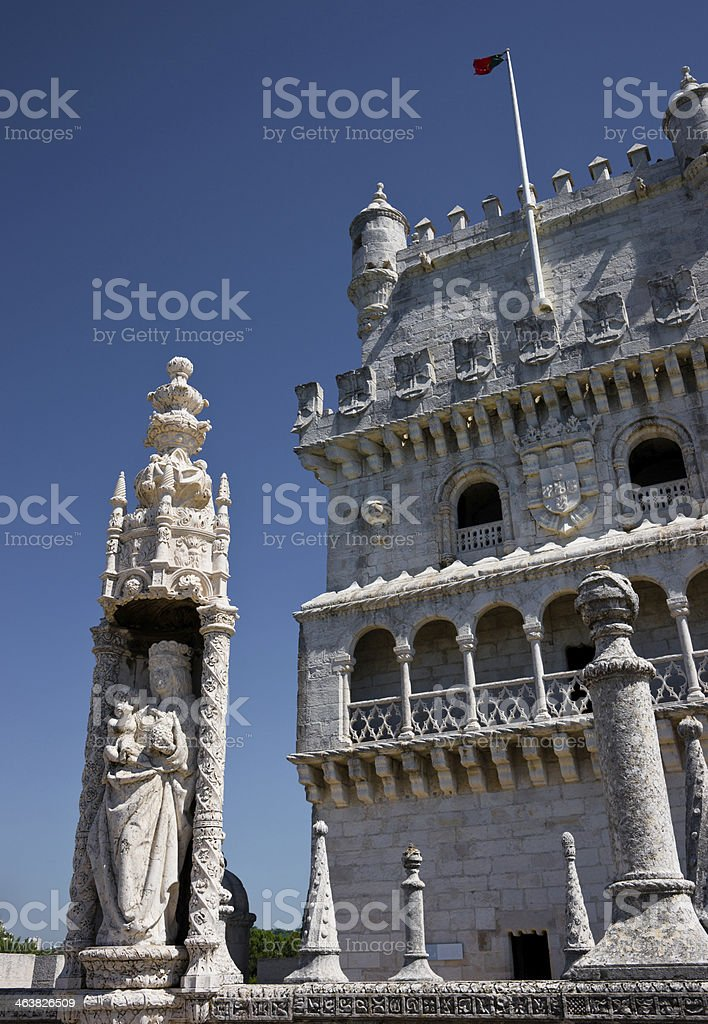 Bel?m Tower in Lisbon, Portugal royalty-free stock photo