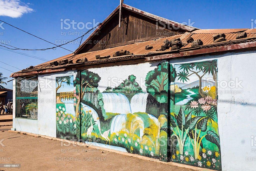 Belo sur Tsiribihina stock photo