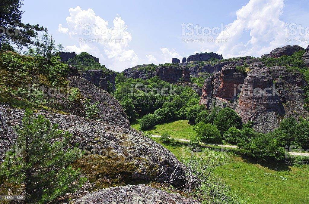 Belogradchik Rocks formation, Bulgaria royalty-free stock photo