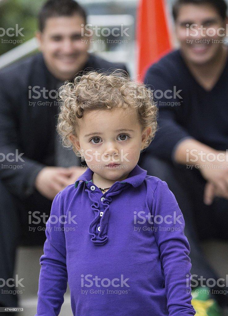 Beloved Child royalty-free stock photo