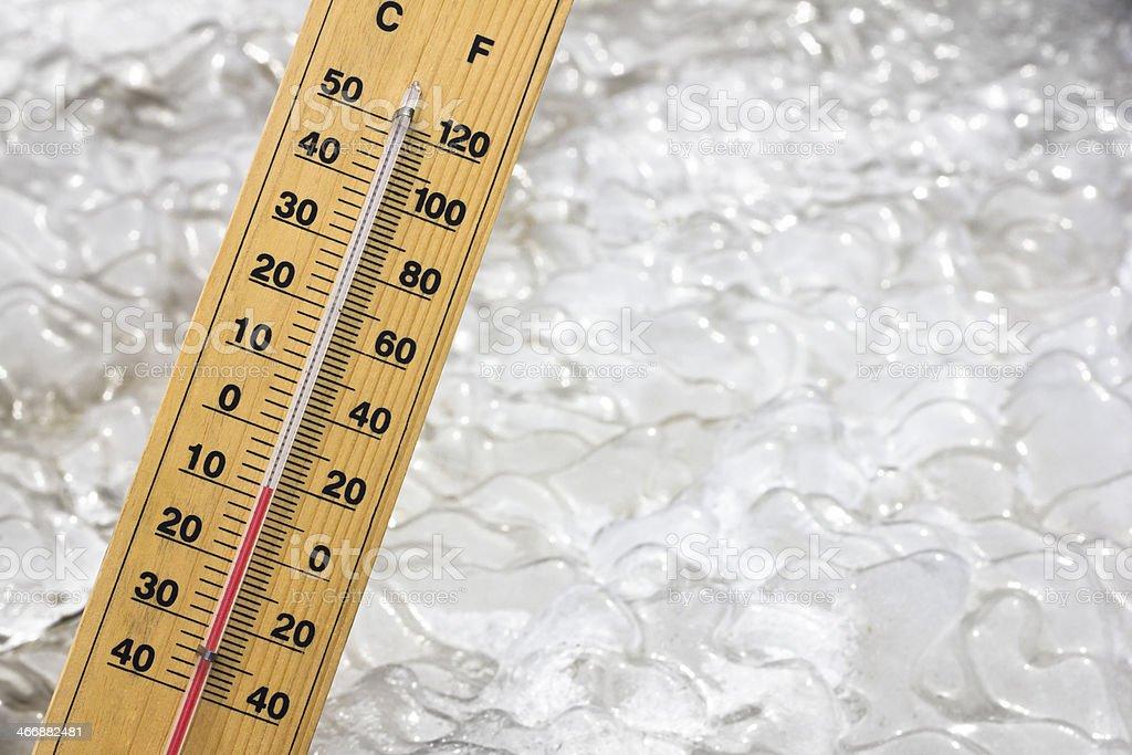 below zero cold royalty-free stock photo