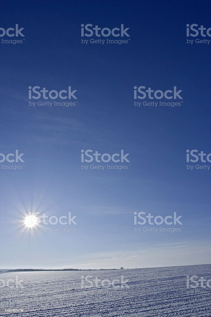 Unter Null royalty-free stock photo