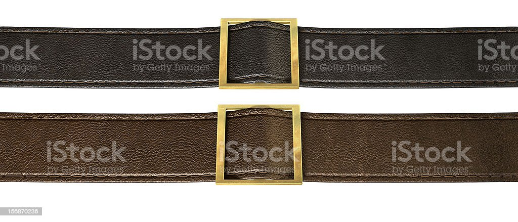 Belt And Buckle royalty-free stock photo