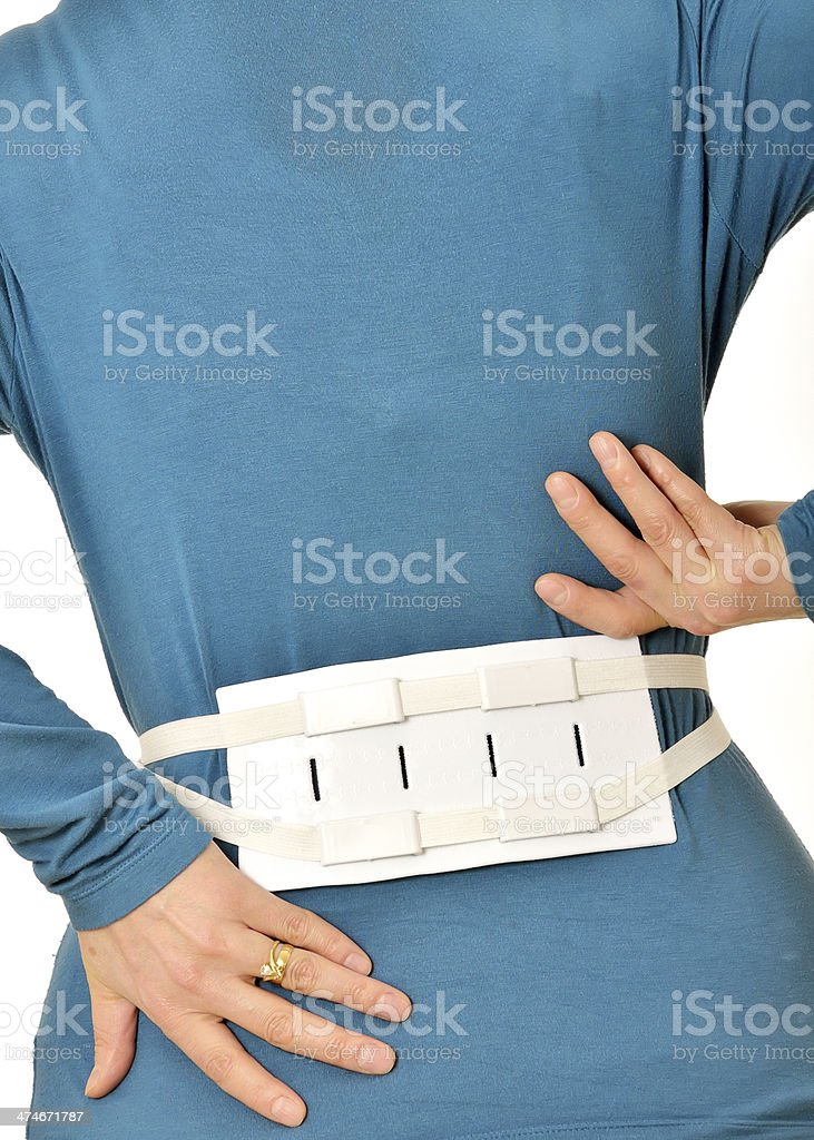 Belt Brace for Spine royalty-free stock photo