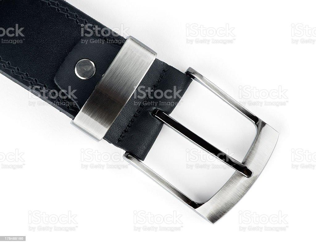 Belt buckle royalty-free stock photo