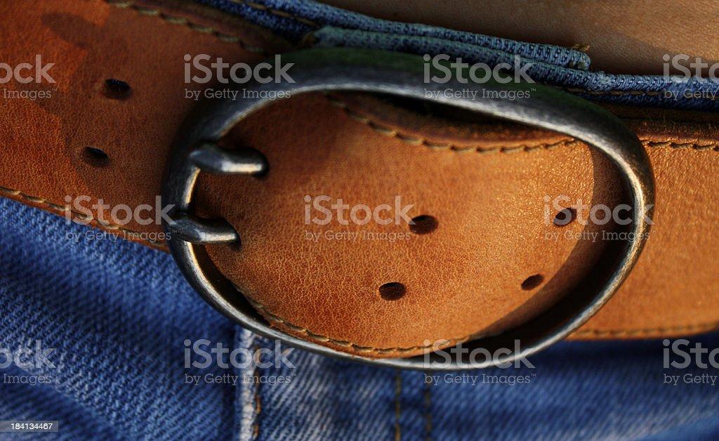 Belt Buckle stock photo