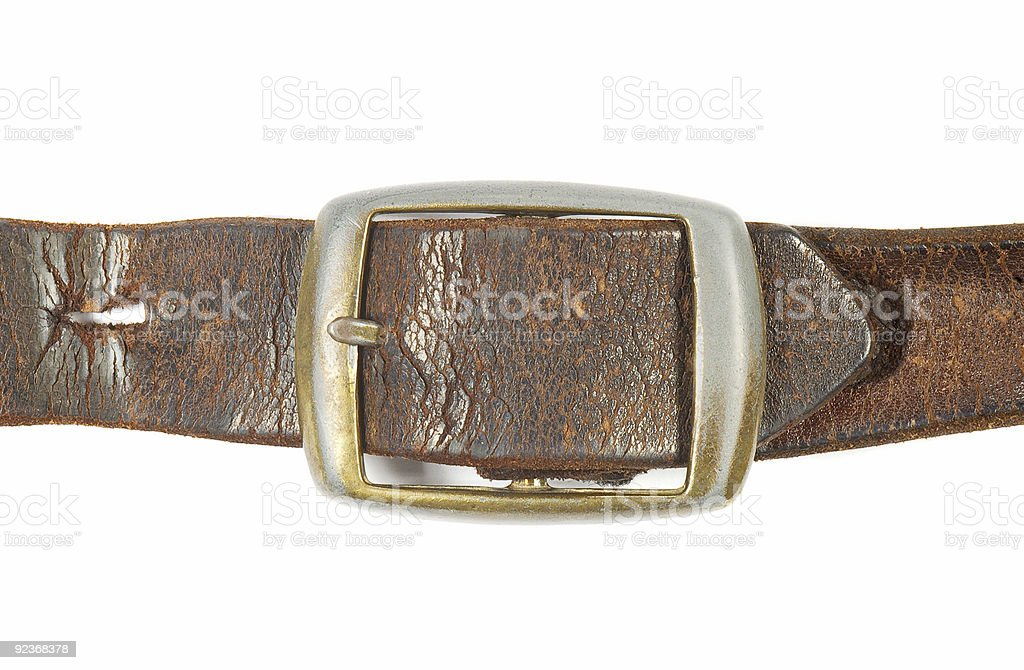 Belt Buckle royalty-free stock photo