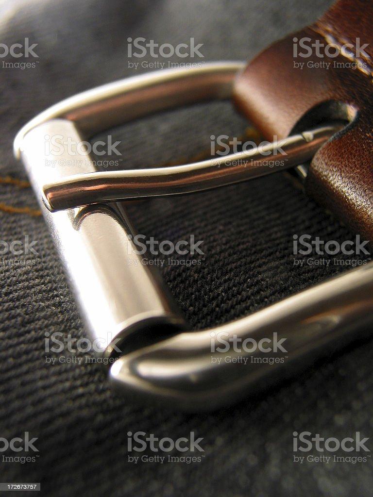 Belt Close Up royalty-free stock photo