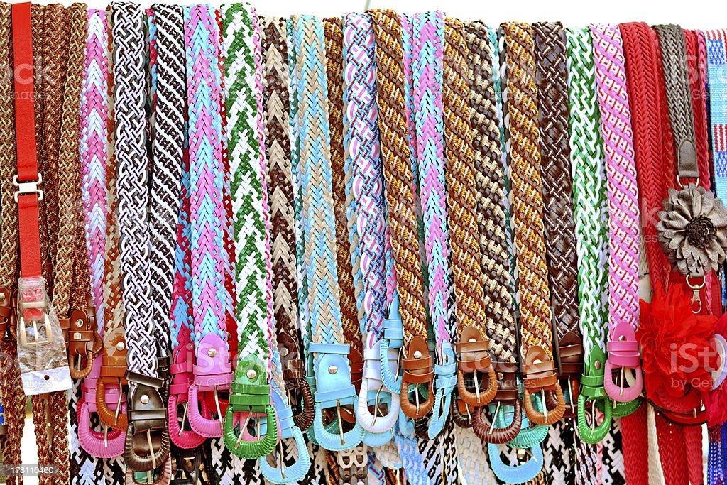 belt colourful royalty-free stock photo