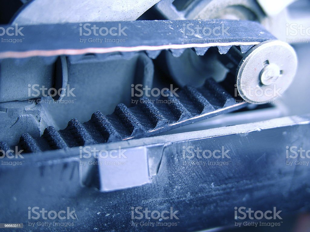 Belt Drive stock photo