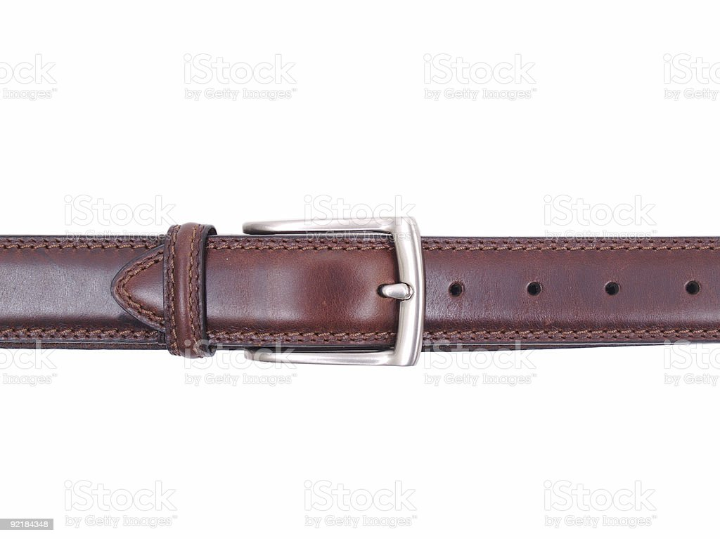 Belt Isolated royalty-free stock photo