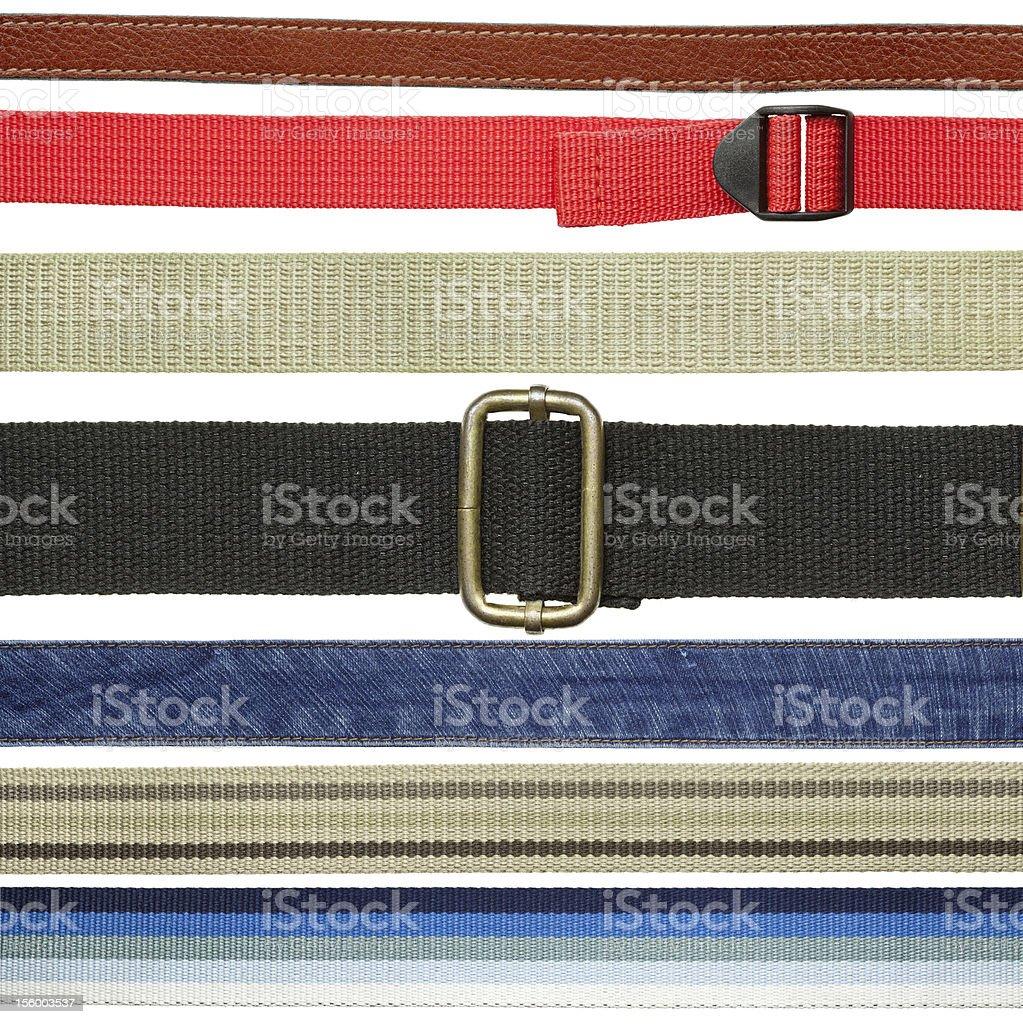 Belt set royalty-free stock photo