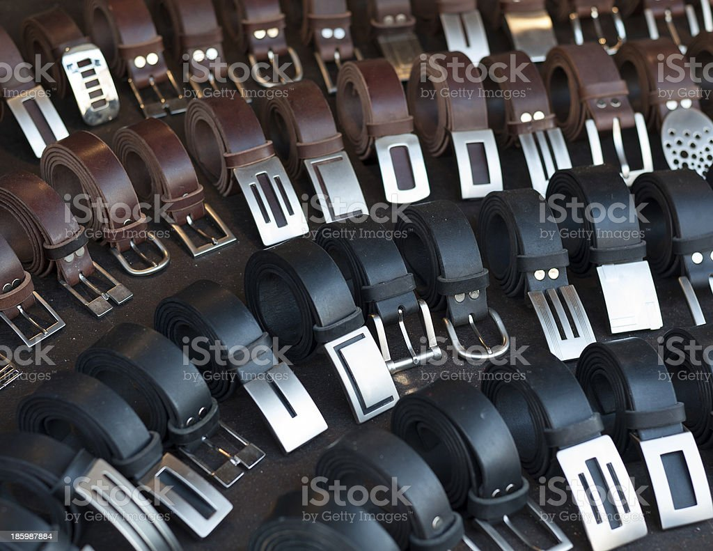 belts royalty-free stock photo