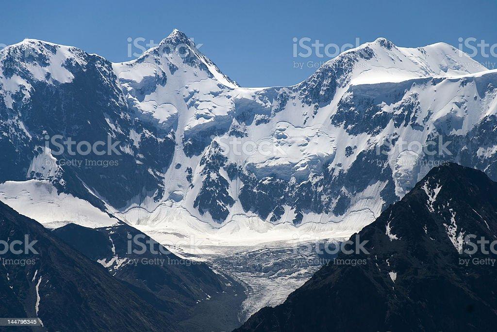 Belukha mountain stock photo