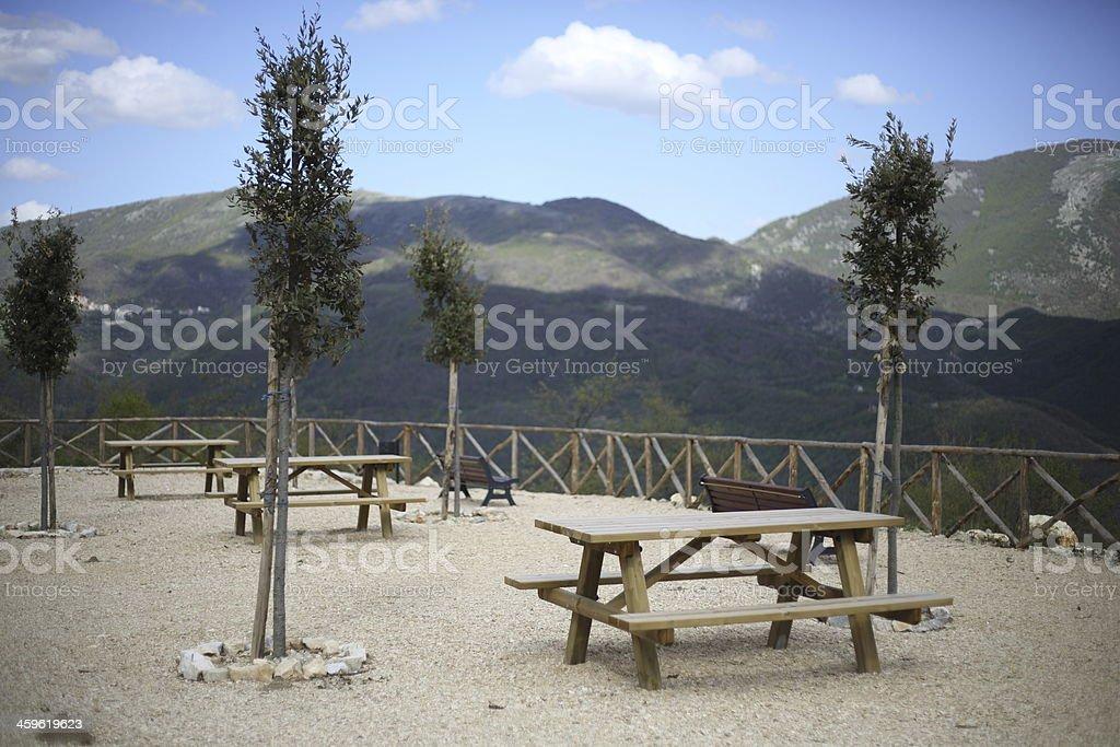 Belvedere Colle di Tora royalty-free stock photo